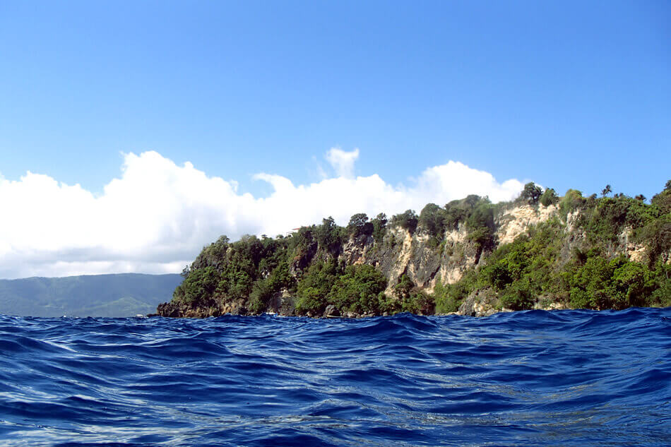 内湾とは違う力強さ!広ーい景観が楽しめます。プエルトガレラの海ログ in Kilima Wall 2015/03/09