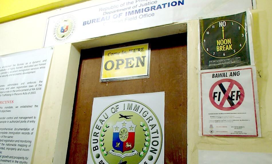 観光ビザの延長はここ!長期滞在するなら欠かせません。プエルトガレラ中心部のイミグレーションオフィス