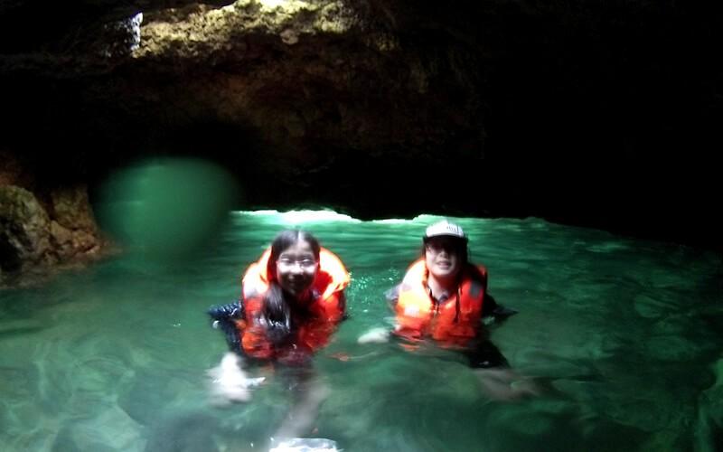 妹と一緒にはじめての体験ダイビング!洞窟探検においしい料理も!みんなのプエルトガレラ旅日記Vol.00