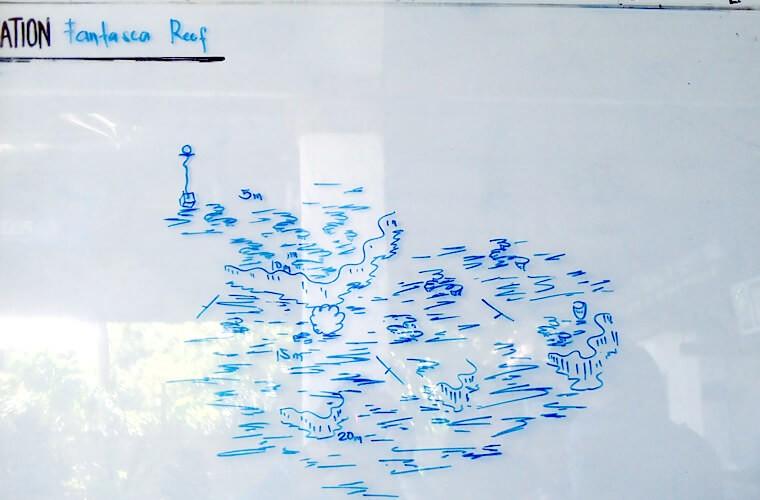 ファンタジーリーフのブリーフィングマップ。