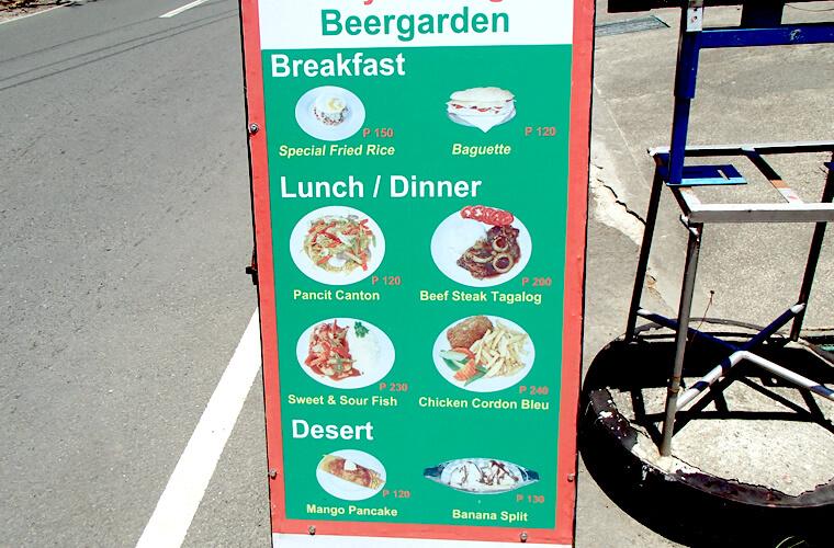 散歩がてらプエルトガレラの美味しいパン屋さんへ!スイスベーカリー SWISS BAKERYの行き方|サーモンにチーズやハムも!