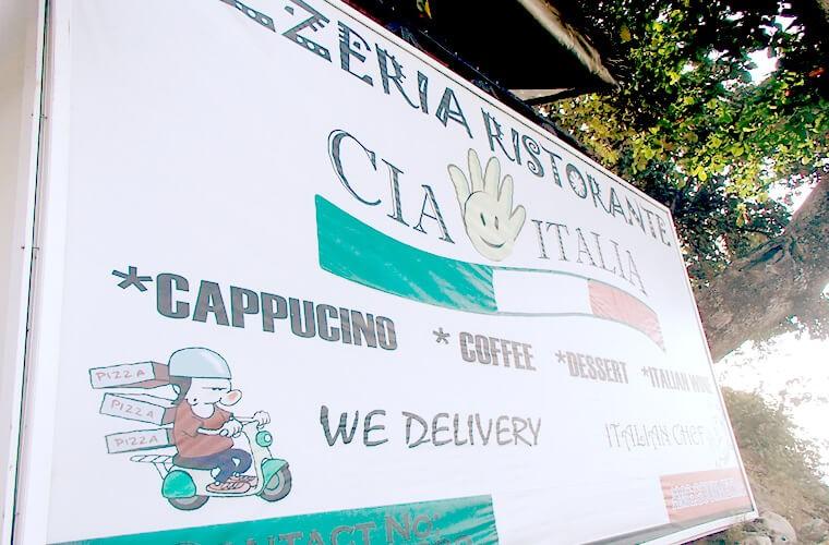 1番端にある「CIAO ITARIA」!トリップアドバイザーのクチコミはこちらから。