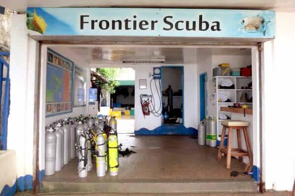 Frontier Scuba(フロンティアスクーバ)|プエルトガレラのダイビングショップ!
