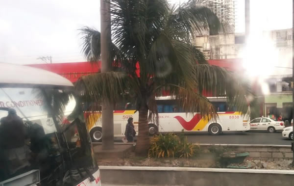 ローカルバスでプエルトガレラへ!リピーター・バックパッカーの方におすすめです。プエルトガレラへの行き方 VOL.01