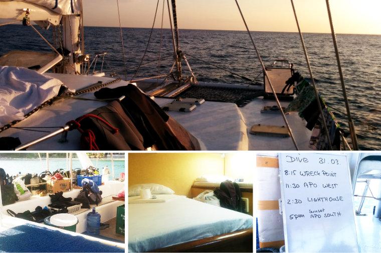プエルトガレラから西ミンドロ島アポリーフへダイビングクルーズ!ダイビング・部屋代・食事付きの5泊6日です。