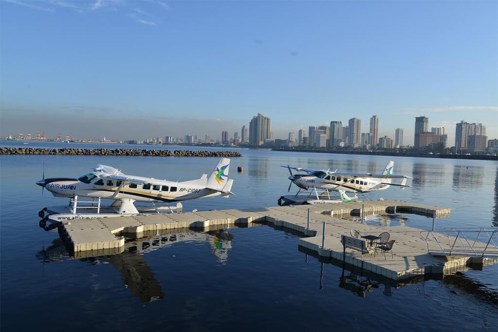 プエルトガレラまで片道なんと約30分!マニラから毎日運行の水上飛行機・セスナをご紹介。